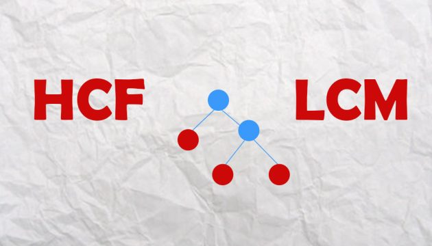 HCF and LCM